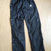 Женские спортивные штаны Adidas на подкладке. Размер на выбор