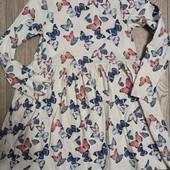 Платье трикотажное 8-10 лет.