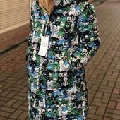 Распродажа: Стильная куртка-пальто / размер 46-48 смотрите замеры