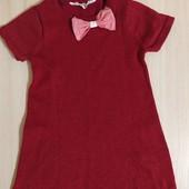 Красивое, яркое платье- туника H&M с добавлением блестящих нитей.