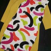 Очень классное, яркое, фирменное платье платье Boohoo pp 12