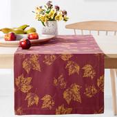 ☘ Скатерть-дорожка для сервировки стола от Tchibo (Германия), размер180*40, нюанс