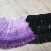 Фиолетовая юбка, 2-4 года