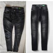 Модні брендові стрейчеві джинси з утяжкою на 15 р.Заміри