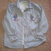 Красивая и модная детская рубашка