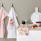 ☘Лот 1 шт☘ Кухонное полотенце из хлопка от Tchibo (Германия), размер: 50х70 см