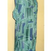 Распродажа ! Стильное , легкое , натуральное платье - рубашка , Италия , р. 44-52