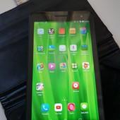 Планшет Huawei Mediapad T1 с кожаным кейсом