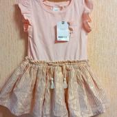 Дуже гарна сукня для вашої принцеси від Next на 9-12 міс