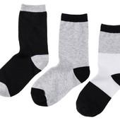 3 пары хлопковых носочков от Pepperts, размер 31-34.