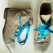 38р. Джинсовые ботинки Atosphere, стелька 24,5см