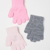 лот 3шт!!! набор перчаток H&M. размер 134/170 на 8-14+ лет