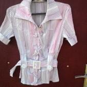 две блузки - рубашки, сток