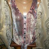 Женская шифоновая блуза crafted