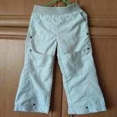 Jindijo штаны красивые девочке 2-3 г 92-98 см с камнями и карманами