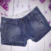 Джинсовые шортики от Pepe jeans, размер 28