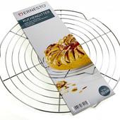 Нержавейка качественная подставка для охлаждения и украшения тортов, пирогов диаметр 30 см Ernesto