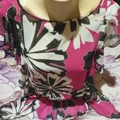 Шикарная блузка шифонавая. Бред Et Vous Размер l,xl,xxl Смотрите лотов много