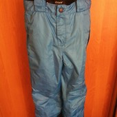 брюки, комбинезон, деми, мембрана, р. 7-8 лет 128 см, Crivit. состояние отличное