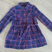 Стильное платьице на возраст 4-5 лет