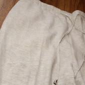 красивые летние брюки, большого размера, фабричный пошив. Литва, 43-51см пот, 53-53,5 см поб