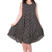 Платье с натуральной ткани 50-54