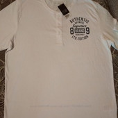 Отличная фирменная мужская футболка поло от Livergy Новая