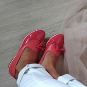 Туфли/балетки Натуральная кожа размер 37