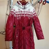 Зимове пальто 48-50. Гарний стан, заміри