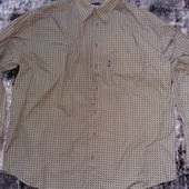 Рубашка интересной расцветки р. XXL, маломерит