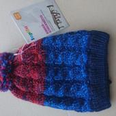 Lupilu вязаная шапка на флисе 2-4 года
