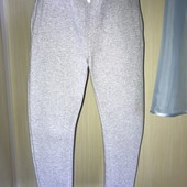 Тёплые штаны с начёсом на возраст 9-10 лет