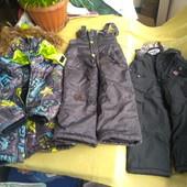 Лот 3шт// Куртка-1 шт.+ штани 2шт,фірма Sp-Show і Bilemi (комбинезон штани Білемі в подарок зимний)