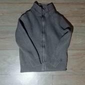 вязанна удобная кофта Zara на 4-5 лет
