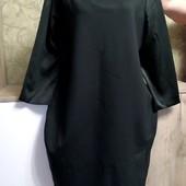 Собираем лоты!! Плотное платье красивого темно зелёного цвета, размер 14