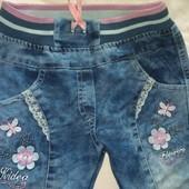 Новые джинсы на девочку 3 года