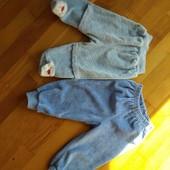Дві пари штанішок для 3-6міс