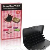 Кошелёк-павербанк Ipower Wallet Bank E-charge черный