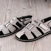 Распродажа! Мужские и Подростковые сандалии на липучках.41-27,42-27.5 см.