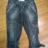 Бриджи ONLY облегченный джинс
