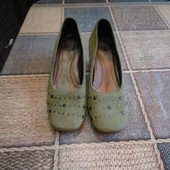 Замшевые туфли Marks & Spencer