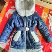 Куртка зимняя очень теплая!