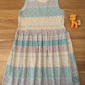 H&M Красивое нежное платье 6-8 лет