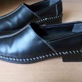 Туфли Rieker р.36 кожа