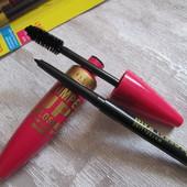 Тушь для ресниц Maybelline Pumpe UP Colossal + карандаш
