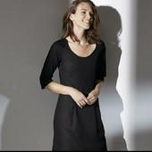esmara, шикарное платье с плиссировкой на спинке евро 44+6замеры