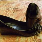 туфельки лаковые 23см
