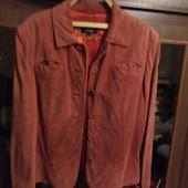 Натуральная замшевая короткая куртка