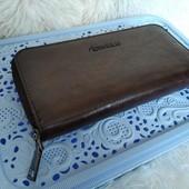 Стильный вместительный кошелек для мужчин, фото мои