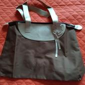 Новая сумка коричневого цвета